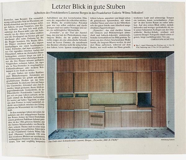 Frankfurter Allgemeine Zeitung, 1. März 2005