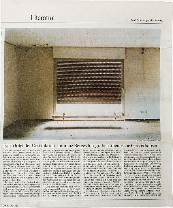 Frankfurter Allgemeine Zeitung, 25. Juni 2005