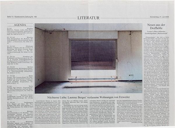 Süddeutsche Zeitung, 21. Juli 2005
