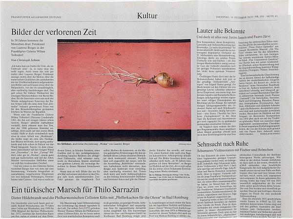 Frankfurter Allgemeine Zeitung, 14. Dezember 2010