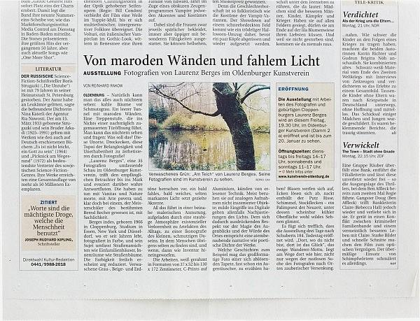 Nordwest-Zeitung, 21. 11. 2012
