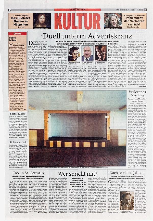 AZ München, 7. Dezember 2000